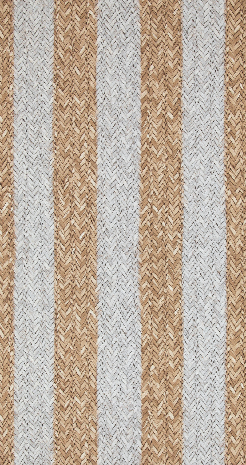 Striped Woven Brown Braid Wallpaper R4316 | Elegant Home Decor Ideas