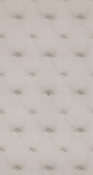 Button Tufted Grey Cushion Wallpaper R4325