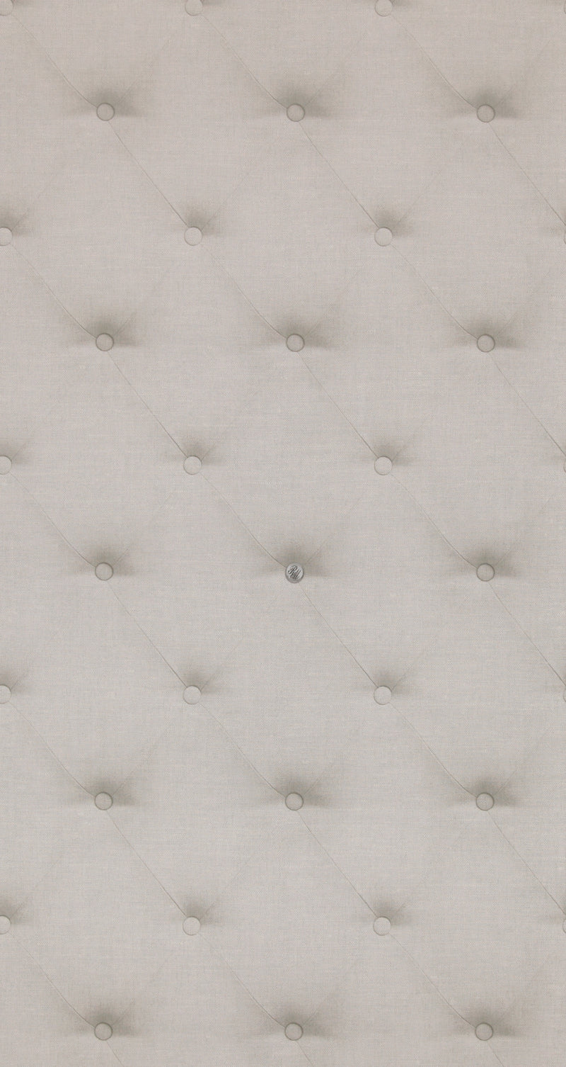 Tufted Grey Cushion Wallpaper R4325 | Vintage Home Interior