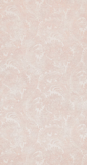 Wash Pink Paisley Damask Wallpaper R4340