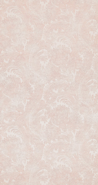 Antiquated Wash Pink Paisley Wallpaper R4340