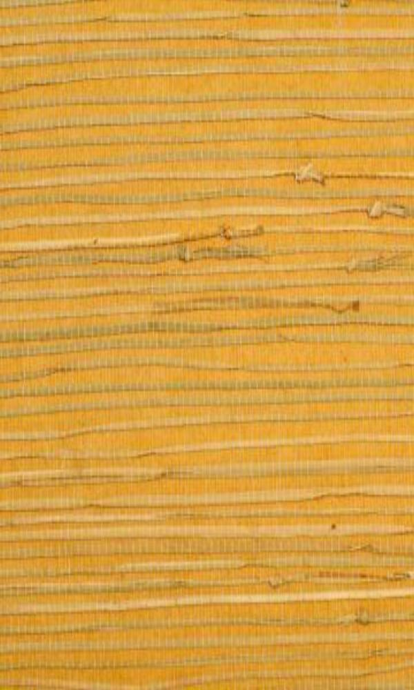 Yellow Majestic Grasscloth Woven Wallpaper R1999