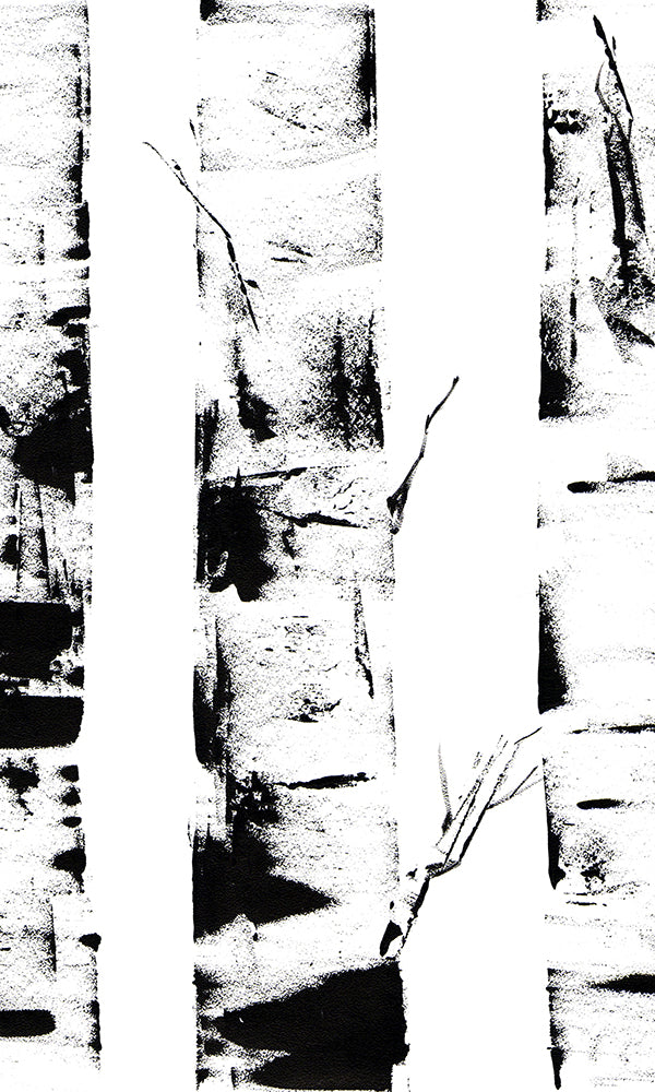 Ink Birch Trunks M9451