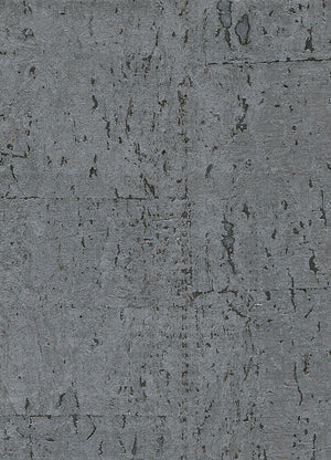 Alr Elder Cork Metallic Grey Wallpaper R2822