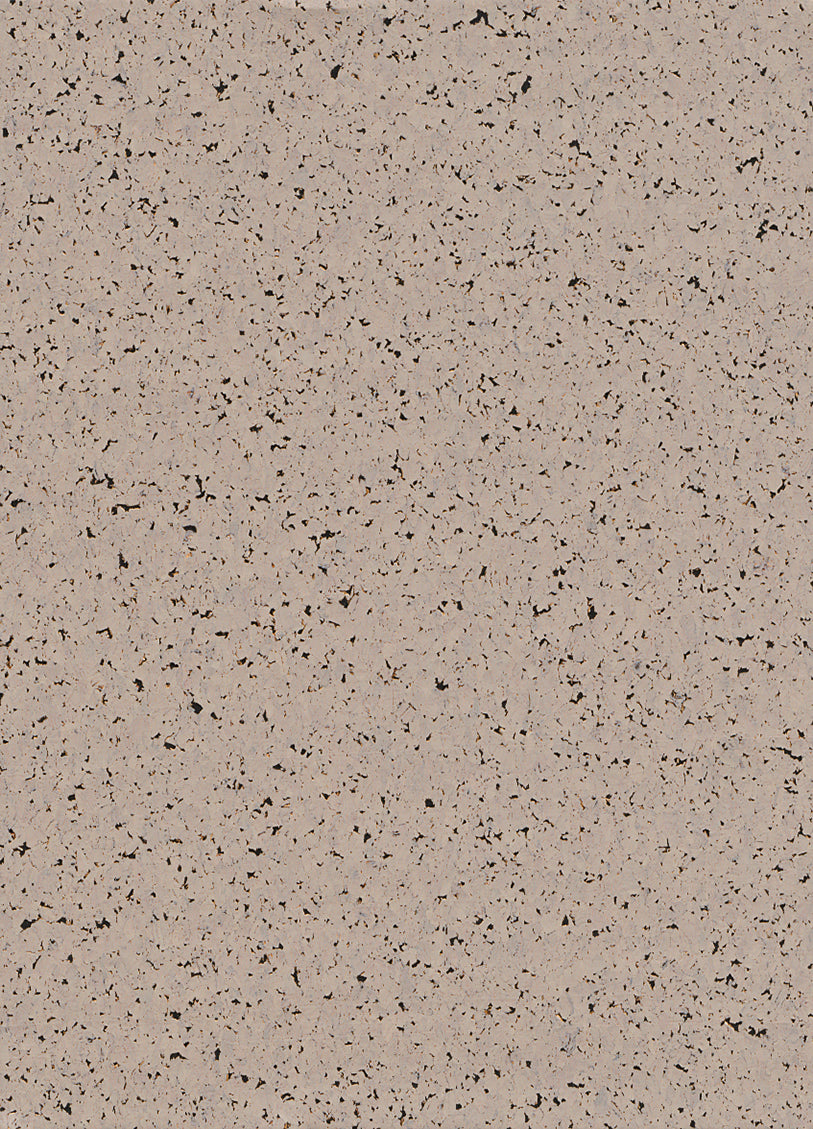 Marbled Cork Taupe and Black Wallpaper R2831