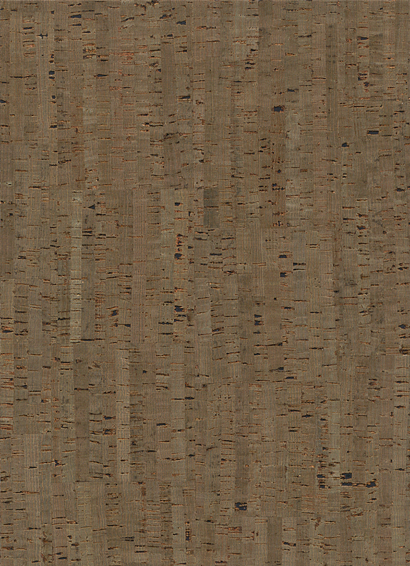 Taupe Cork Metallic Wallpaper R2820 | Vintage Home Interior