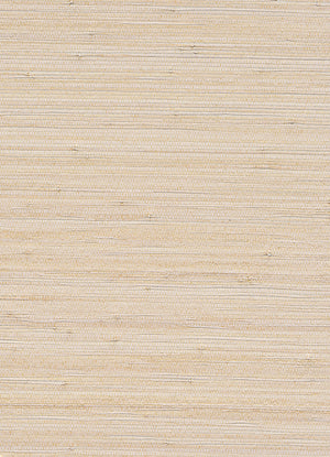 Alr Woven Highlighter White and Beige Grasscloth Wallpaper R2858
