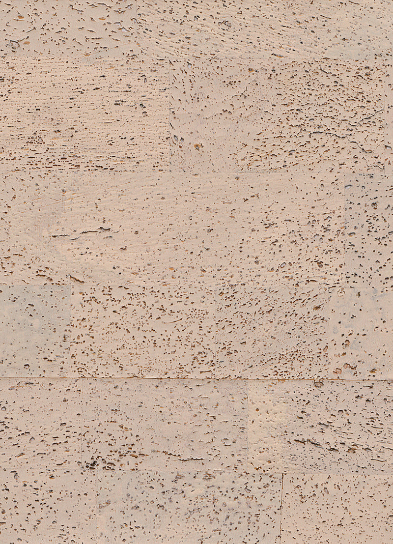 Retro Cork White and Beige Wallpaper R2817