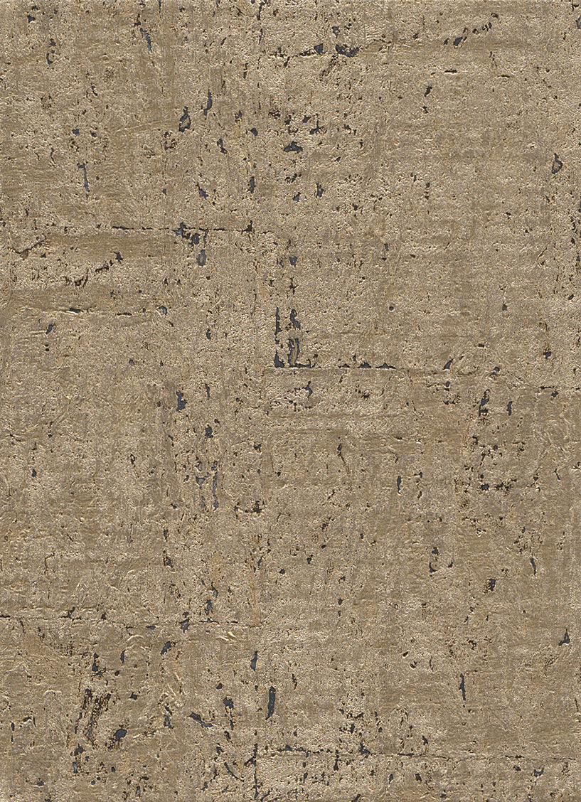 Elder Cork Metallic Gold Wallpaper R2827
