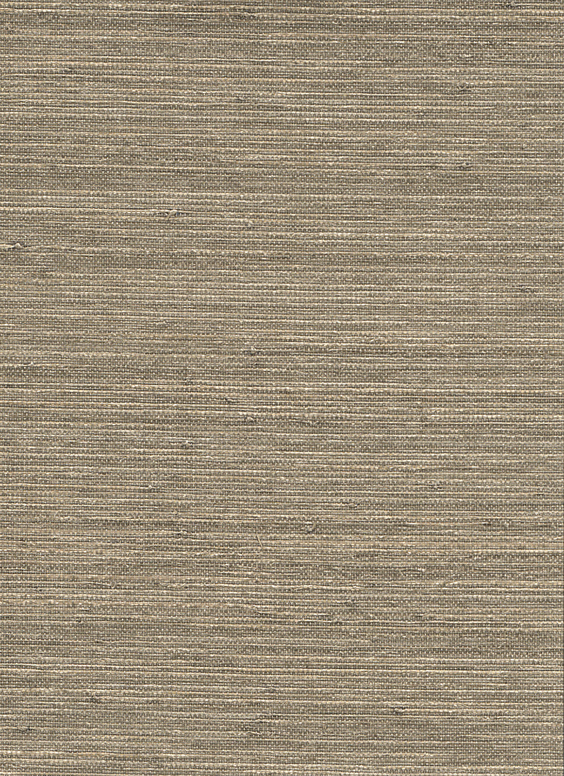 Metallic Ingot Beige Grasscloth Wallpaper R2871