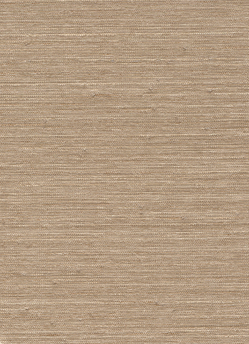 Metallic Ingot Gold Grasscloth Wallpaper R2870