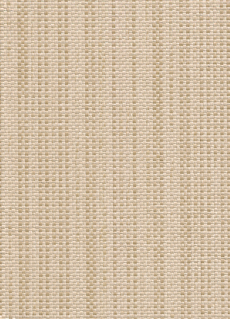 Alr Intertwine Beige and Brown Grasscloth Wallpaper R2845