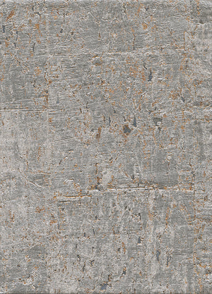 Elder Cork Metallic Bronze Wallpaper R2824