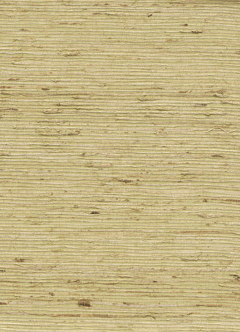 Grassknot Green and Yellow Grasscloth Wallpaper R2863