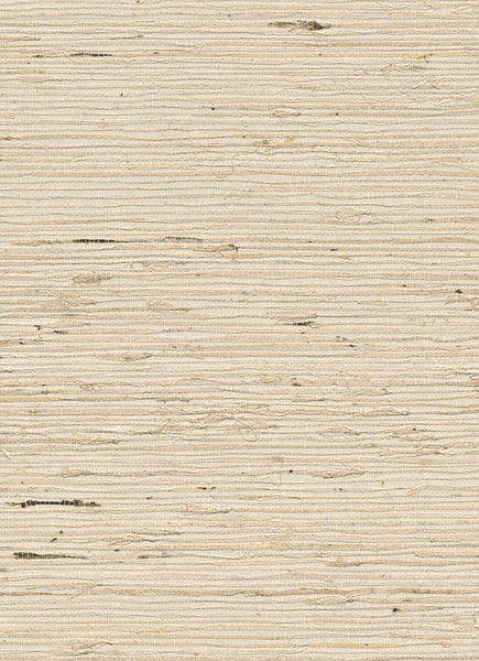 Grassknot White and Beige Grasscloth Wallpaper R2862