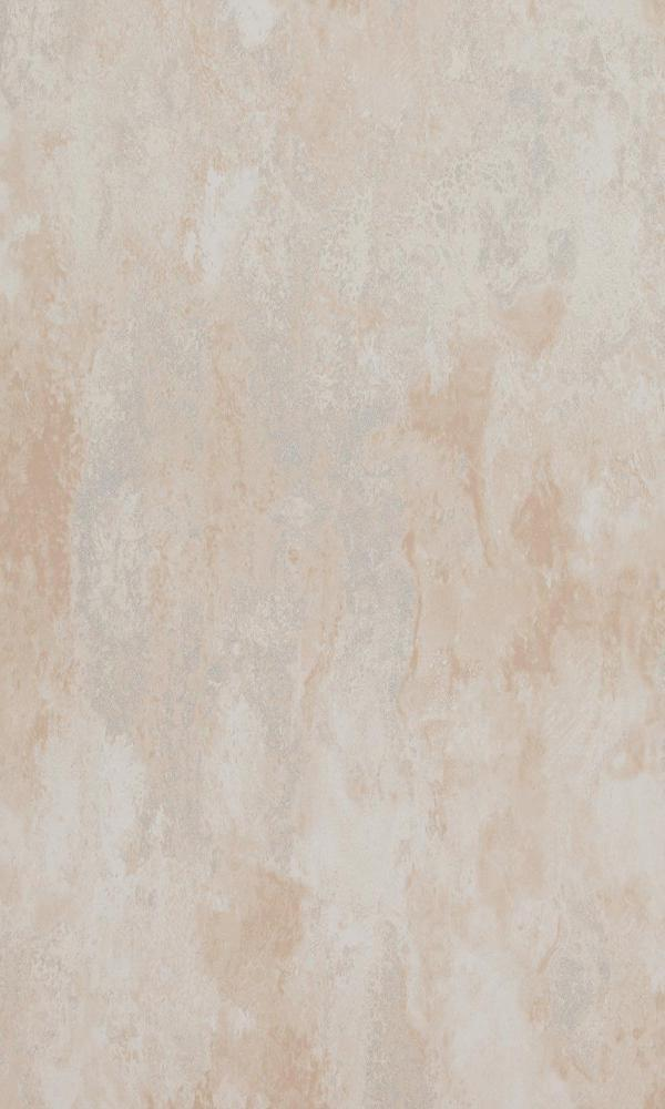 Concrete Cloudy Abstract Wallpaper Beige and Metallic Silver R4671