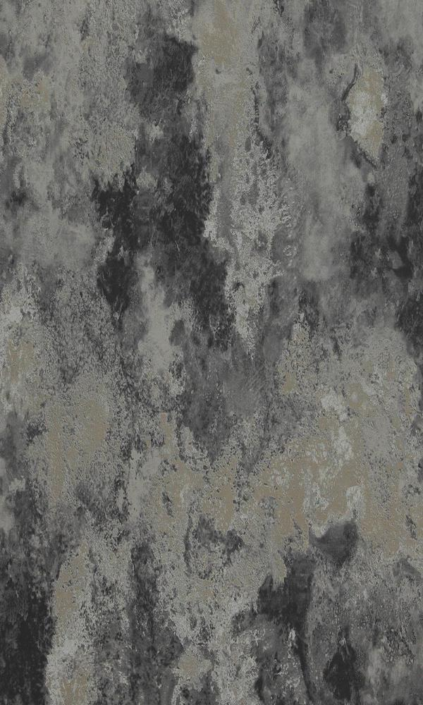 Black & Silver Concrete Abstract Wallpaper R4669. Concrete wallpaper. Black wallpaper. Silver wallpaper. Grey wallpaper. Abstract wallpaper.