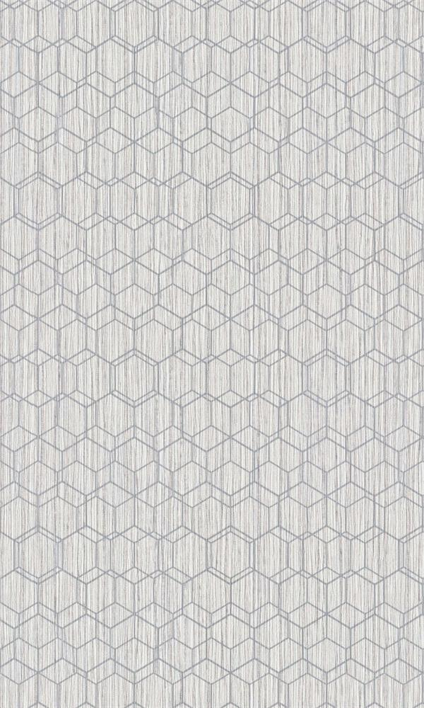 Grey Faux Printed Grasscloth R5687