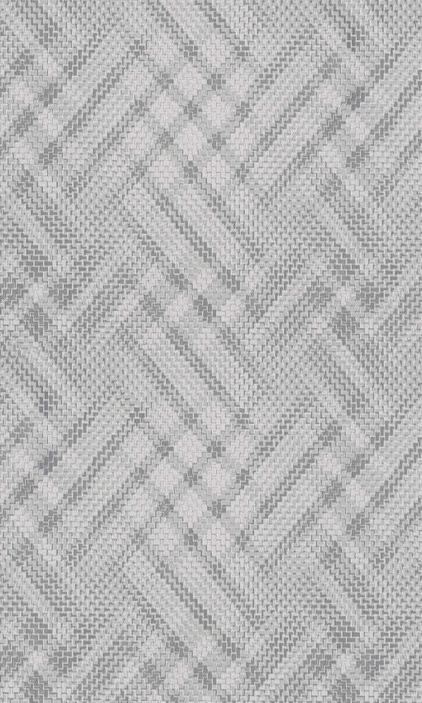 Grey Jagged Zig-zag Wallpaper R5805 | Luxury Home & Office Interior