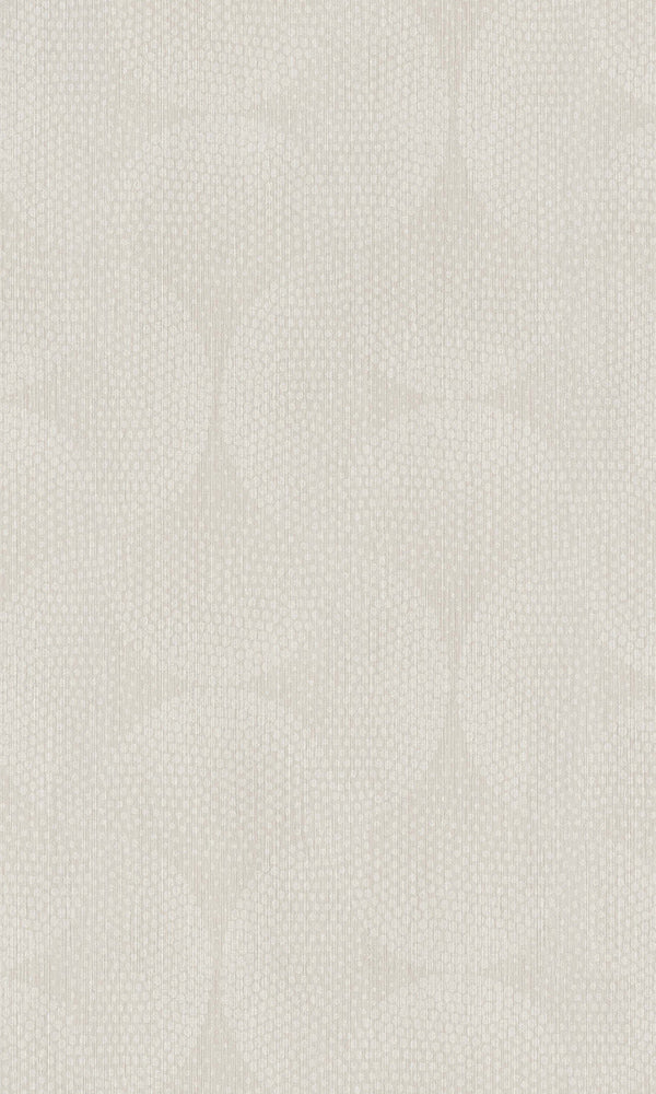 Beige Dotted Interlocking Ovals Wallpaper R5807
