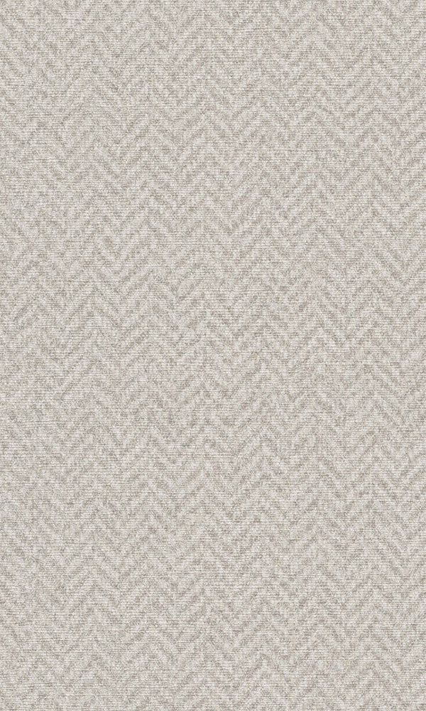 Beige Fabric Chevron Stripe Wallpaper R5762