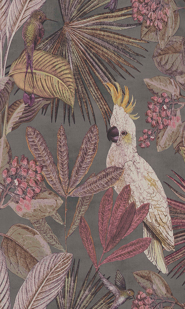 wild jungle forest wallpaper, Tropical Paradise Wallpaper R6040 | Contemporary Home Interior