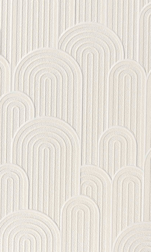 White Retro Geometric Hills Wallpaper R6063.retro geometric hills wallpaper