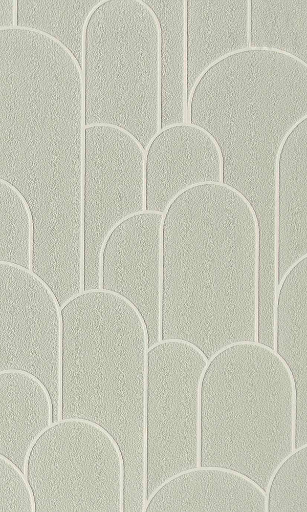 geometric rounded hills wallpaper