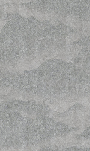 asian inspired misty mountains wallpaper