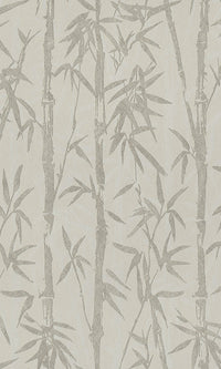 modern asian inspired bamboo forest wallpaper