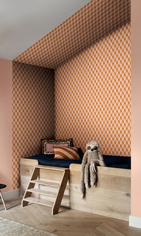 3 dimensional cube geometric wallpaper