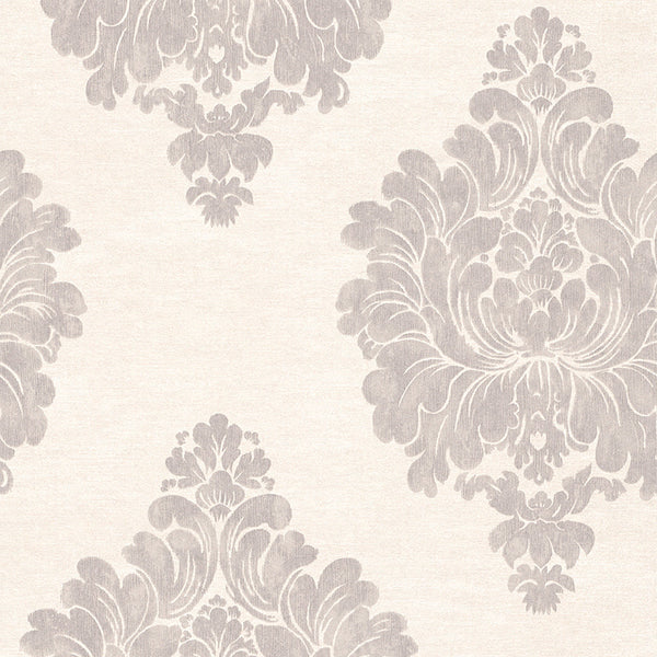 Grey Weathered Damask R3010