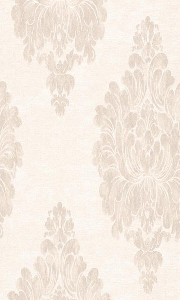 Beige Weathered Damask R3011