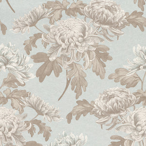 vintage floral wallpaper, Grey Floral Blossoms Wallpaper R3028 | Vintage Home Wall Covering