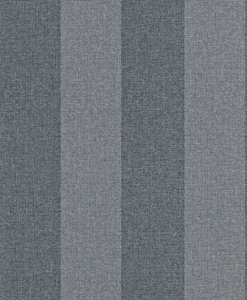 Striped Woven Navy Ritz Wallpaper R4029