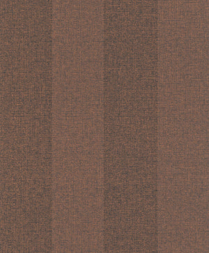 Striped Woven Copper Ritz Wallpaper R4028 . Stripe wallpaper. Brown wallpaper. Transitional wallpaper. Faux wallpaper.