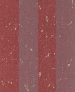 Metallic Weathered Stripes Wallpaper Magenta and Violet R4741