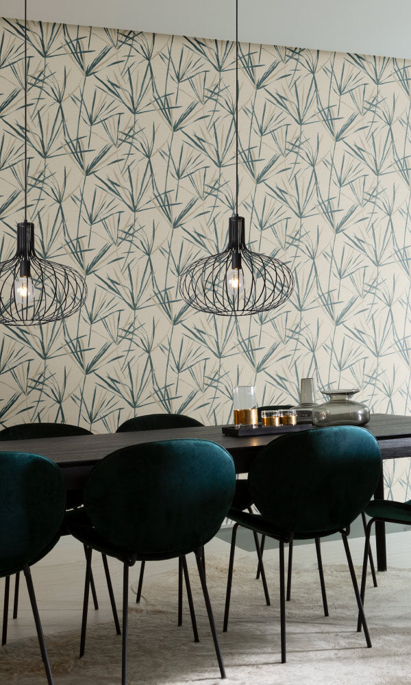 dreamy dandelions nature dining room wallpaper ideas