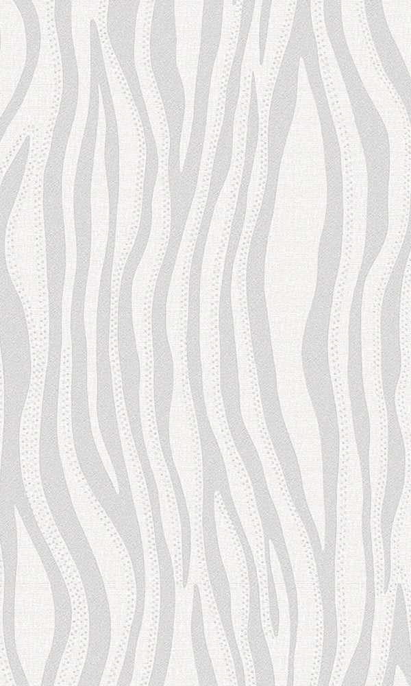 Grey Candle Flame Stripes R5903