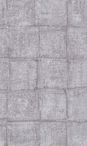 Grey Concrete Square Wallpaper R5906 | Modern Home Interior