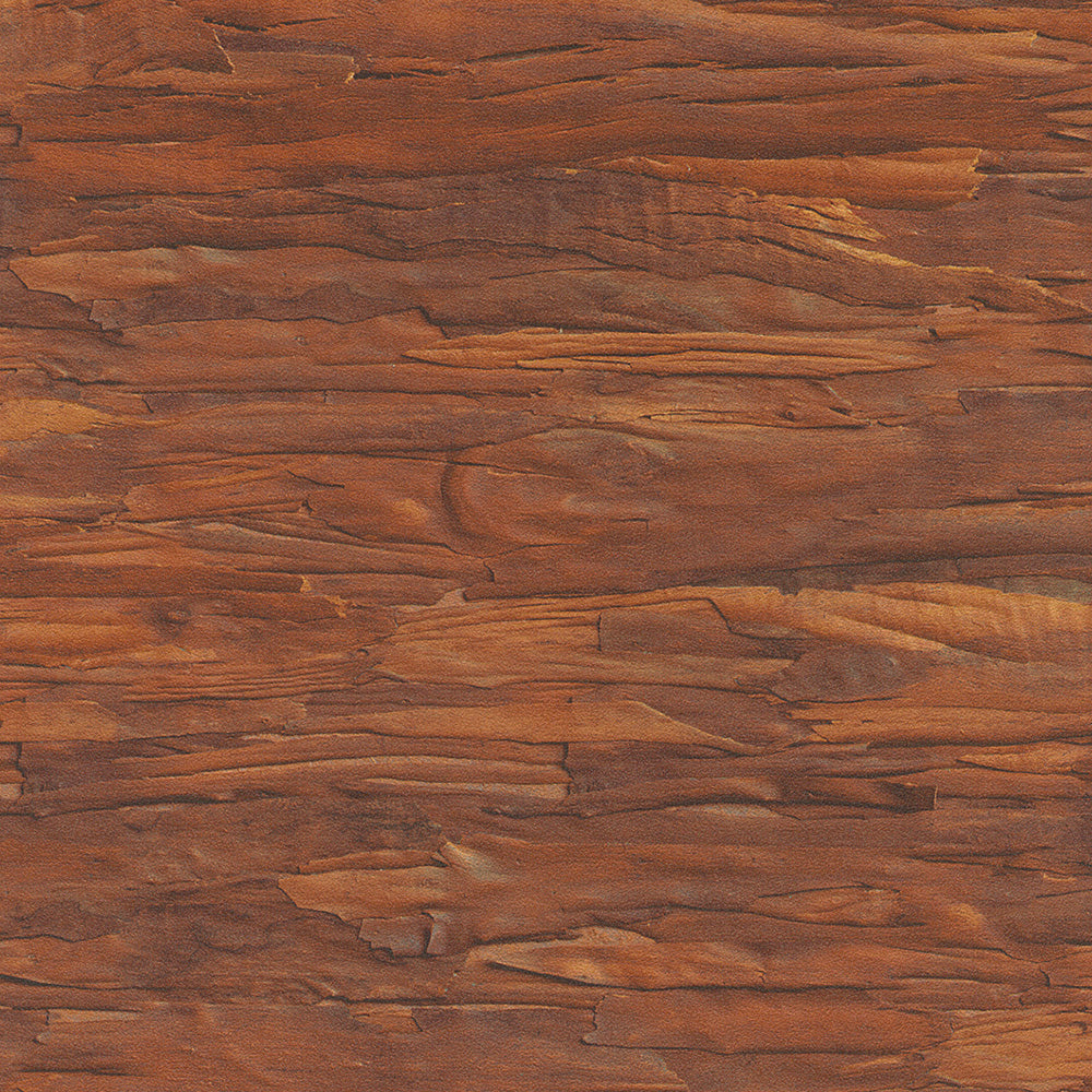 faux wood wallpaper, Orange Brown Faux Wood Wallpaper R4676 | Vintage Home Interior