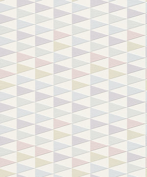 Pink and Purple Geometric Wallpaper R4393 | Modern Home Wall Covering