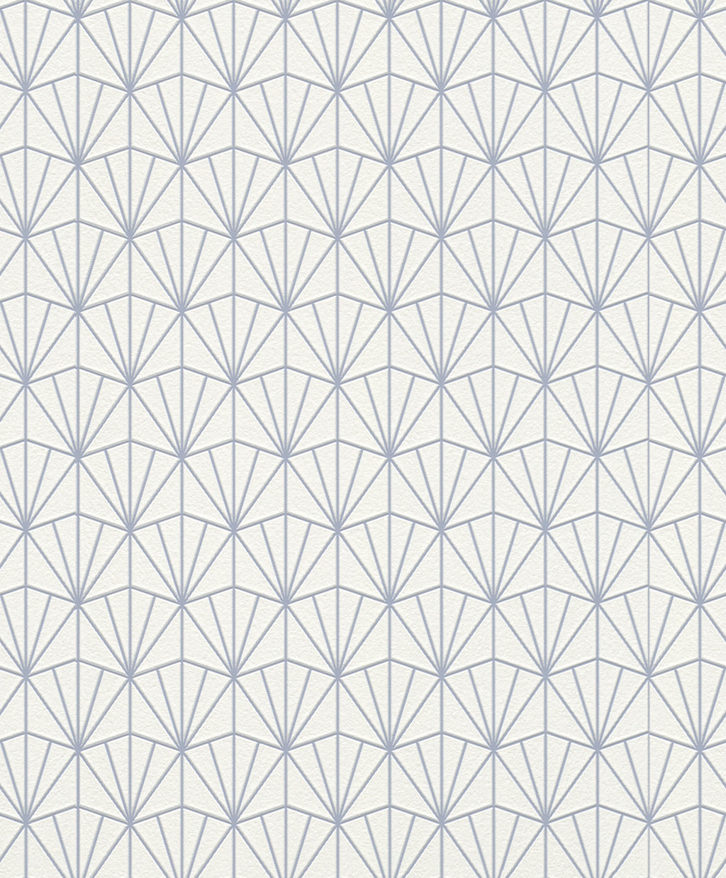 Blue Triangular Geometric Wallpaper R4395 | Traditional Home Interior