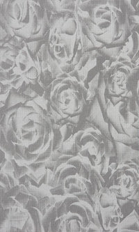 Grey Floral Wallpaper SR1774 | Contemporary Home Wall Covering