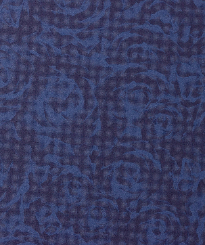 dark floral wallpaper.Tender Blue Dark Bold Floral Wallpaper SR1775.