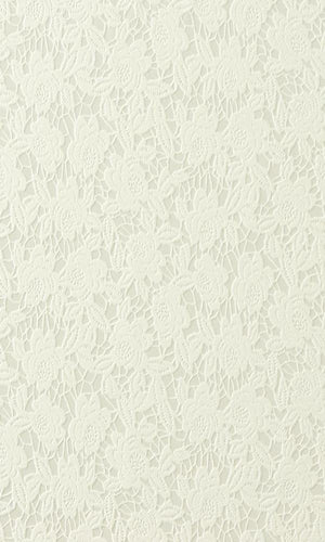 Silver Old Rose Wallpaper SR1797 | Floral Home Wall Covering