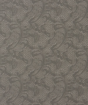 Textile Brown Traditional Lace Wallpaper SR1810