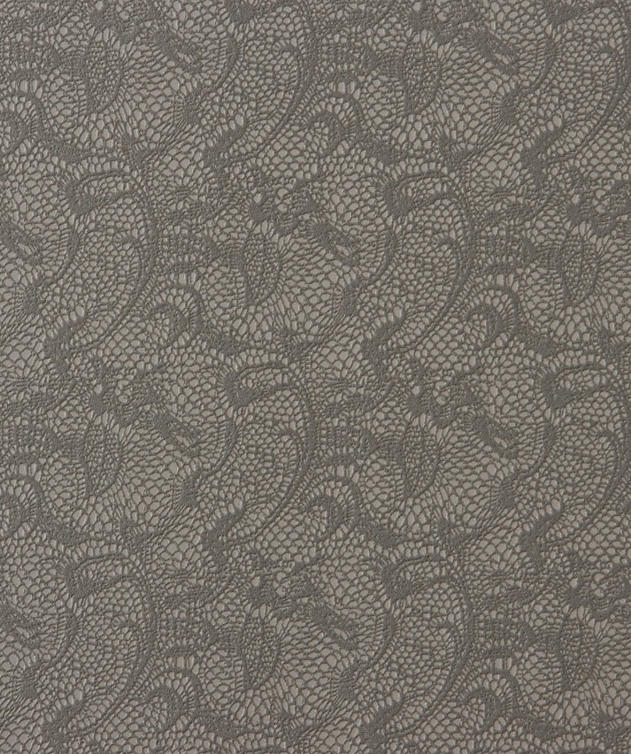 Brown Lace Wallpaper SR1810 | Traditional Home Interior