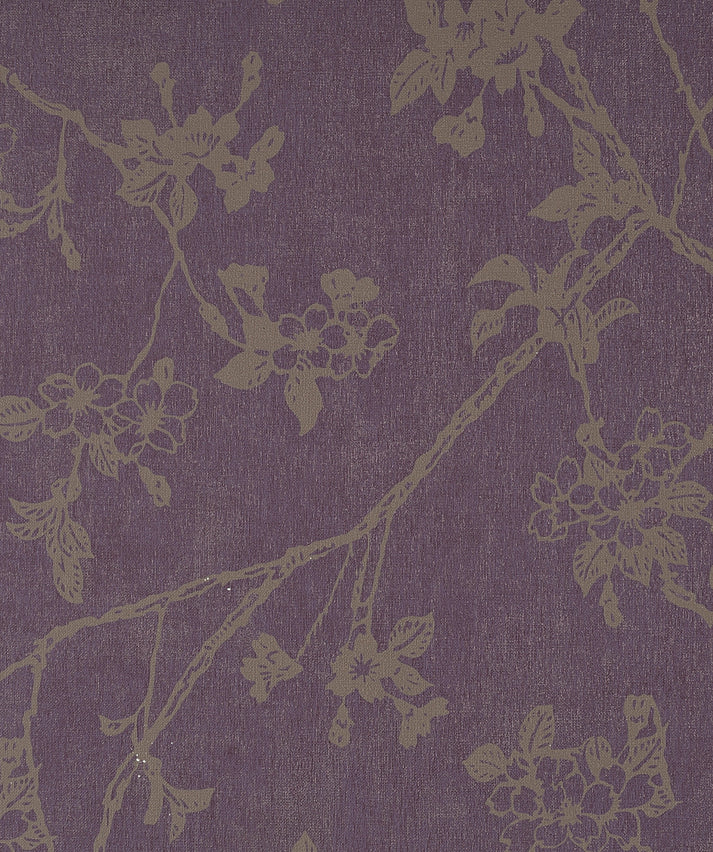 Flora Byzantium Black and Gold Wallpaper SR1194