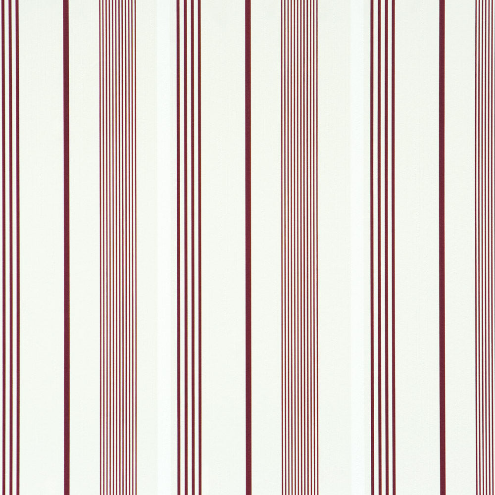 Path Red and White Striped Wallpaper  SR1250
